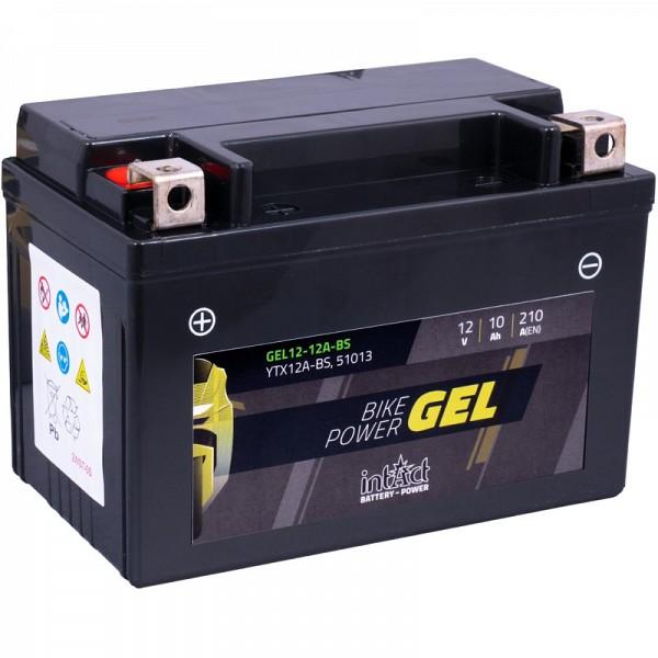 Moto akumulator Intact GEL YTX12A-BS 12V-10Ah