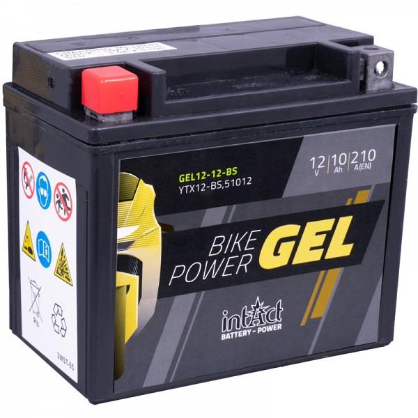 Moto akumulator Intact GEL YTX12-BS 12V-10Ah