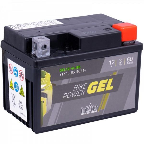 Moto akumulator Intact GEL YTX4L-BS 12V-3Ah