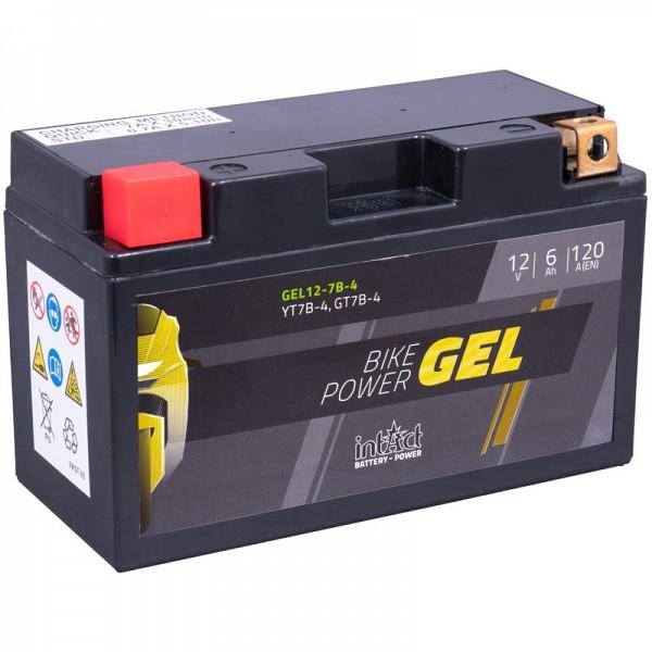 Moto akumulator Intact GEL YT7B-4 12V-6Ah
