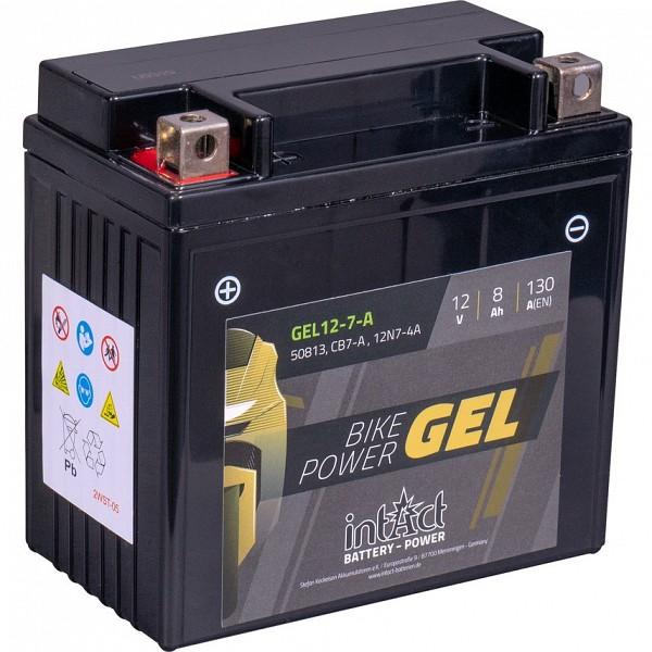 Moto akumulator Intact GEL YB7-A 12V-8Ah