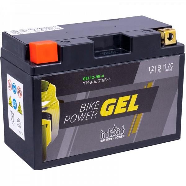 Moto akumulator Intact GEL YT9B-4 12V-8Ah