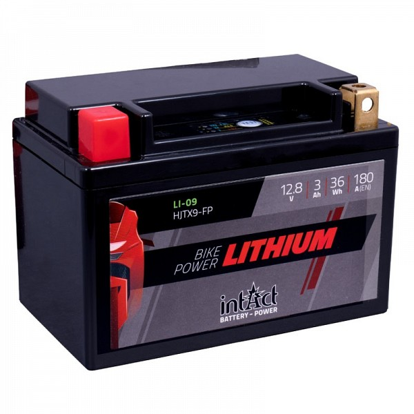 Moto akumulator Intact LI-09 12.8V-3Ah