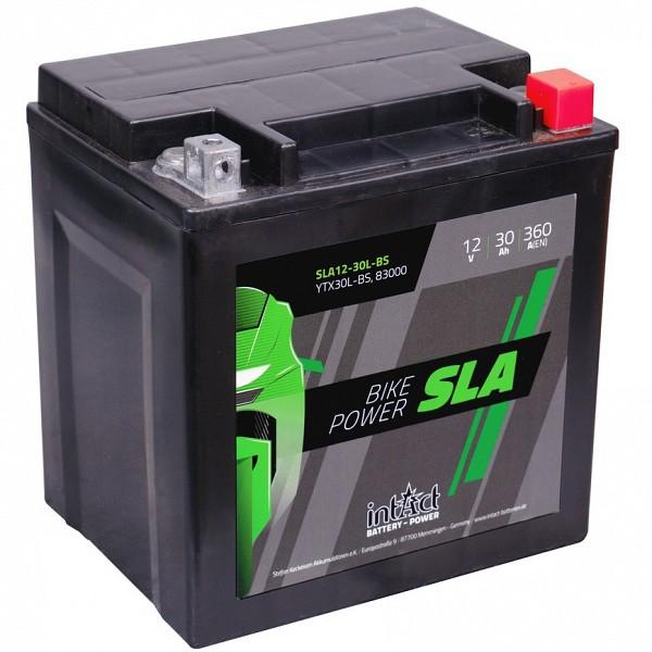 Moto akumulator Intact SLA YTX30L-BS 12V-30Ah