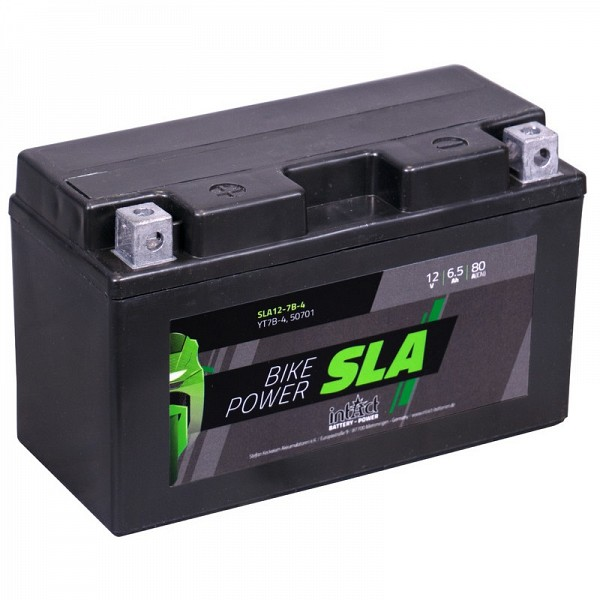 Moto akumulator Intact SLA YT7B-4 12V-6,5Ah