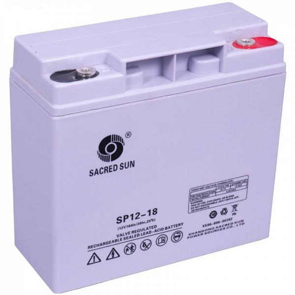 Akumulator Sacred Sun 12V-18Ah