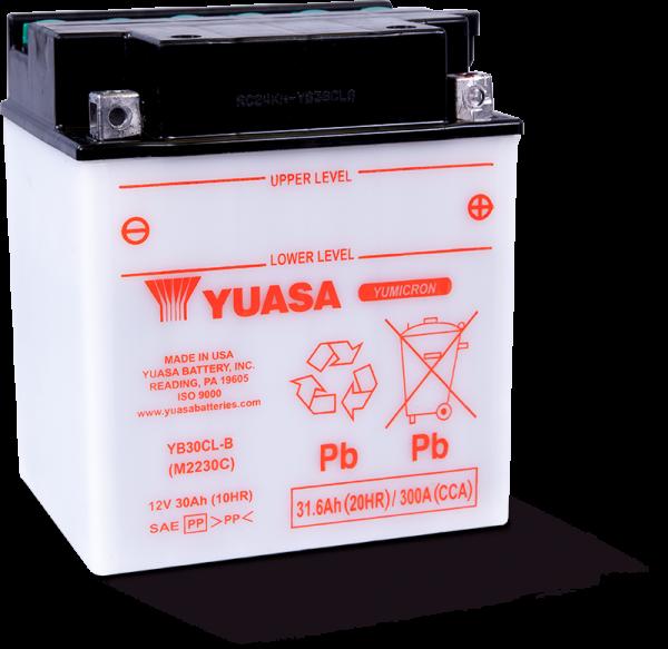 Moto akumulator Yuasa YB30CL-B 12V-30Ah