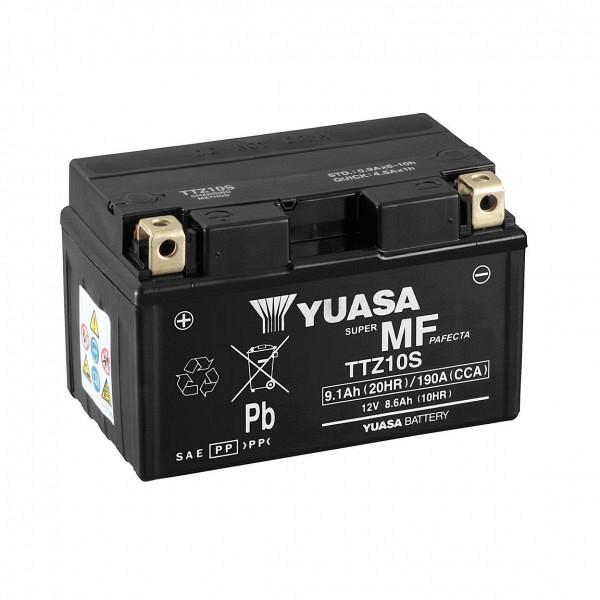 Moto akumulator Yuasa AGM TTZ10S 12V-8,6Ah