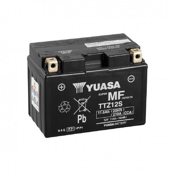 Moto akumulator Yuasa AGM TTZ12S 12V-11Ah