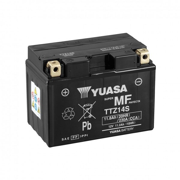Moto akumulator Yuasa AGM TTZ14S 12V-11,2Ah