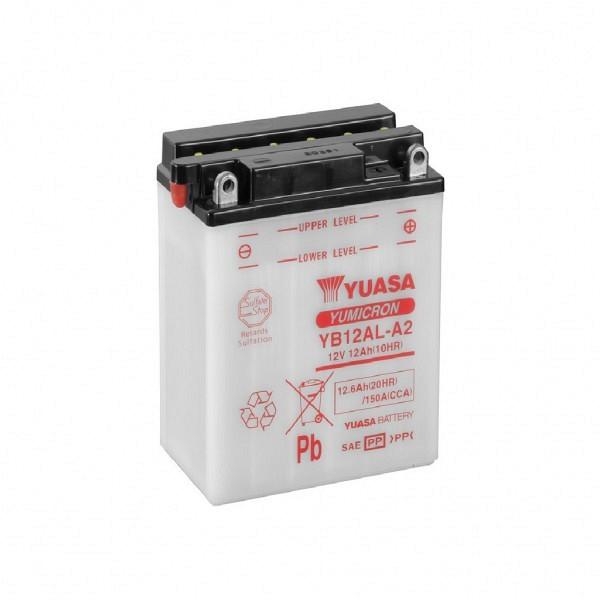 Moto akumulator Yuasa YB12AL-A2 12V-12Ah