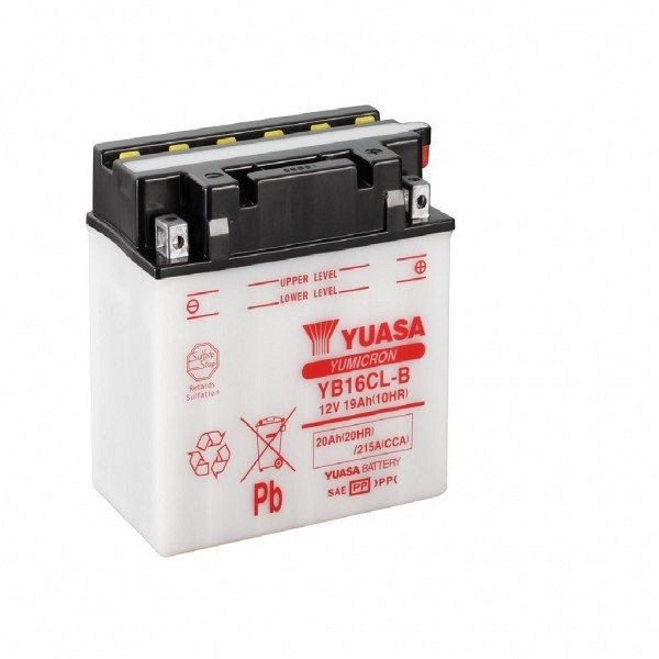 Moto akumulator Yuasa YB16CL-B 12V-19Ah