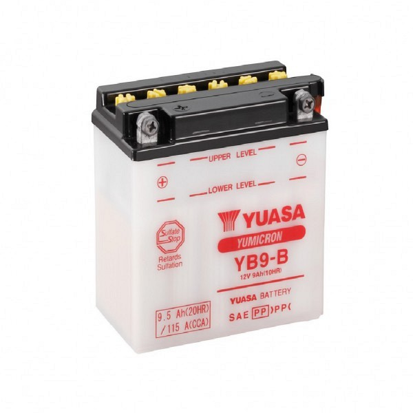 Moto akumulator Yuasa YB9-B 12V-9Ah