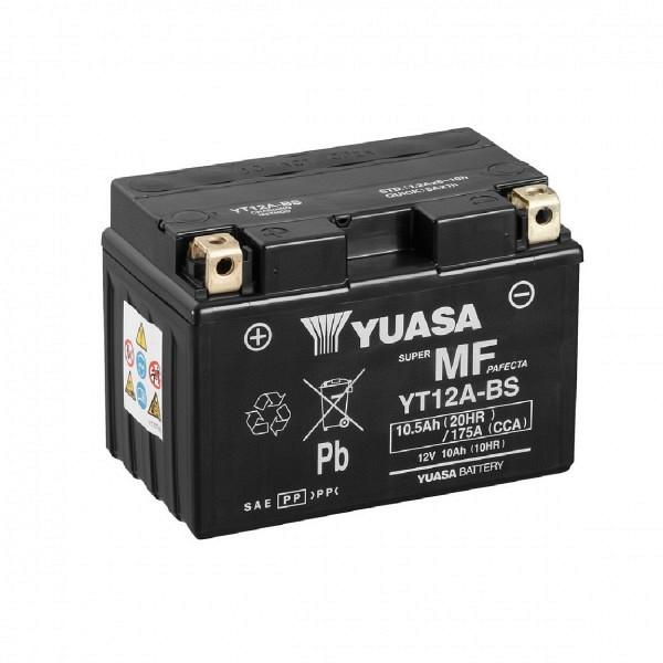Moto akumulator Yuasa AGM YT12A-BS 12V-10Ah