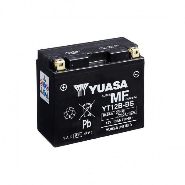 Moto akumulator Yuasa AGM YT12B-BS 12V-10Ah