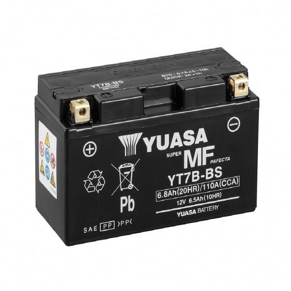 Moto akumulator Yuasa AGM YT7B-BS 12V-6.5Ah