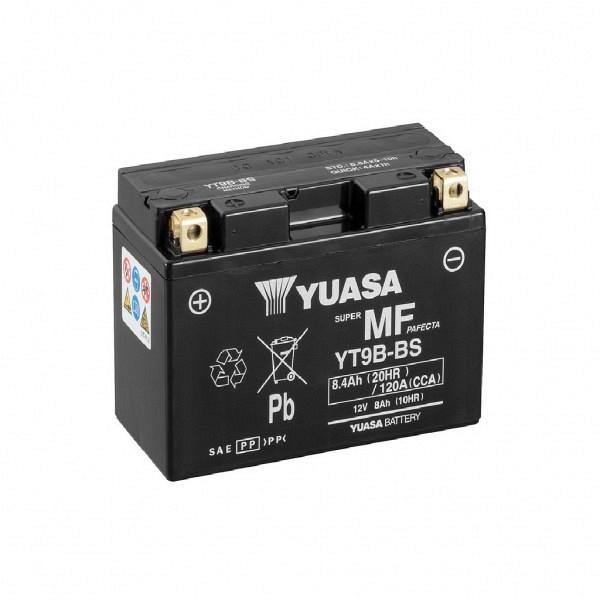 Moto akumulator Yuasa AGM YT9B-BS 12V-8Ah