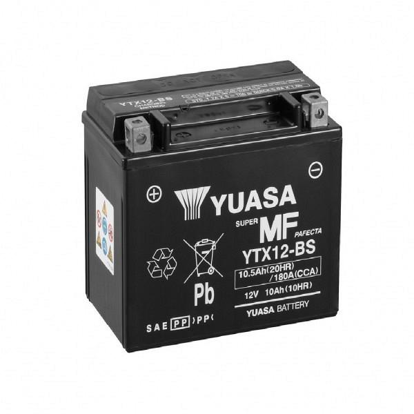 Moto akumulator Yuasa AGM YTX12-BS 12V-10Ah