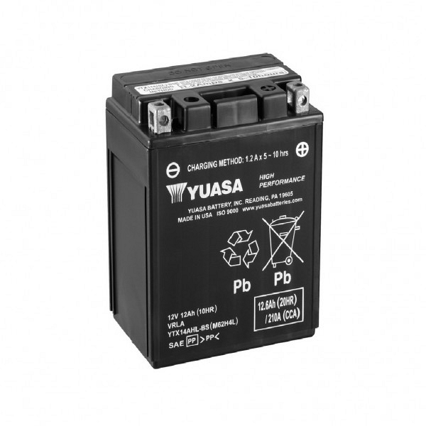 Moto akumulator Yuasa AGM YTX14AHL-BS 12V-12Ah