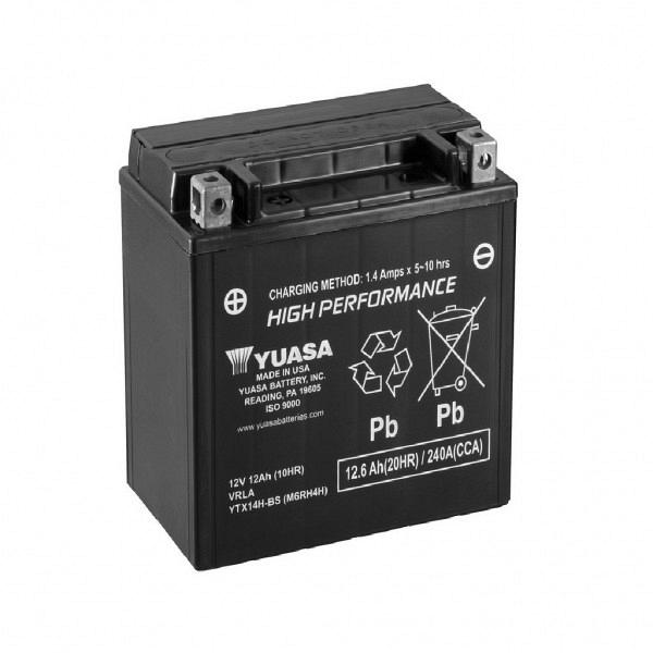 Moto akumulator Yuasa AGM YTX14H-BS 12V-12Ah