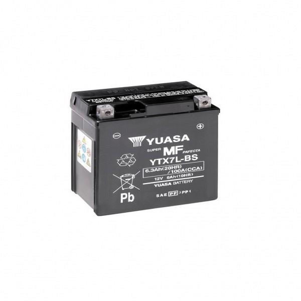Moto akumulator Yuasa AGM YTX7L-BS 12V-6Ah