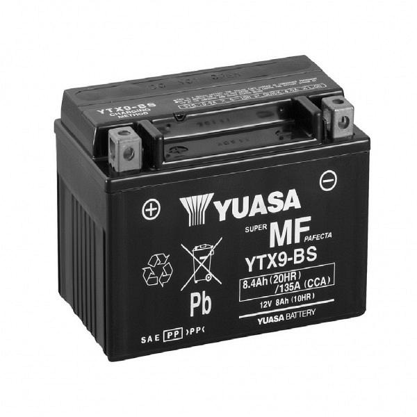 Moto akumulator Yuasa AGM YTX9-BS 12V-8Ah
