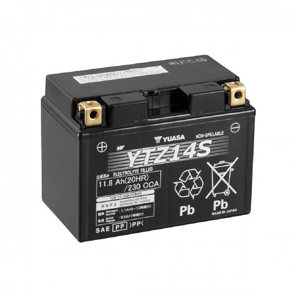 Moto akumulator Yuasa AGM YTZ14S 12V-11,2Ah