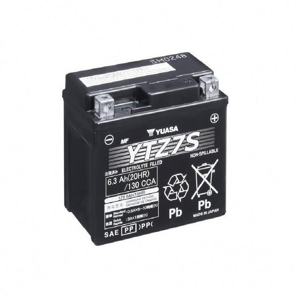 Moto akumulator Yuasa AGM YTZ7-S 12V-6Ah